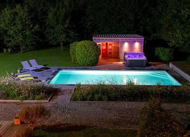 chambre hote avec jacuzzi privatif terrasse liege