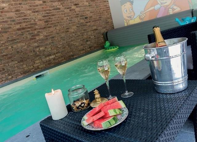 chambre d'hôte avec spa jacuzzi privatif province luxembourg maison jules