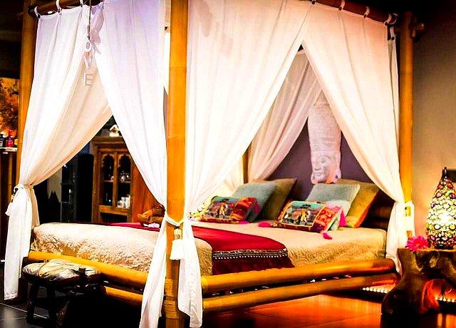 Loft d'une chambre avec jacuzzi privatif dans le Hainaut, à Mala India Spa