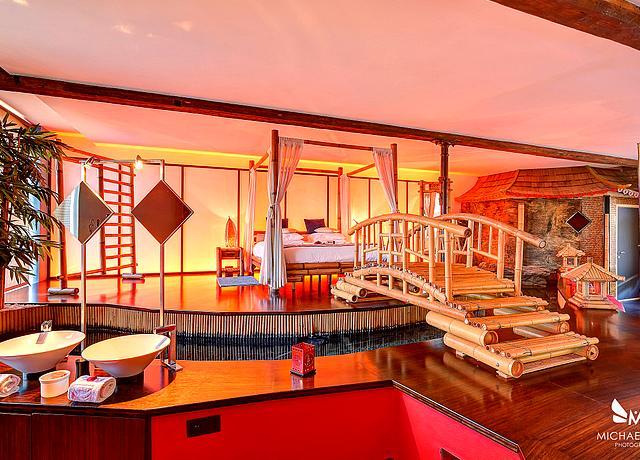 Lofts, villas et suites avec jacuzzi privatif à Liège