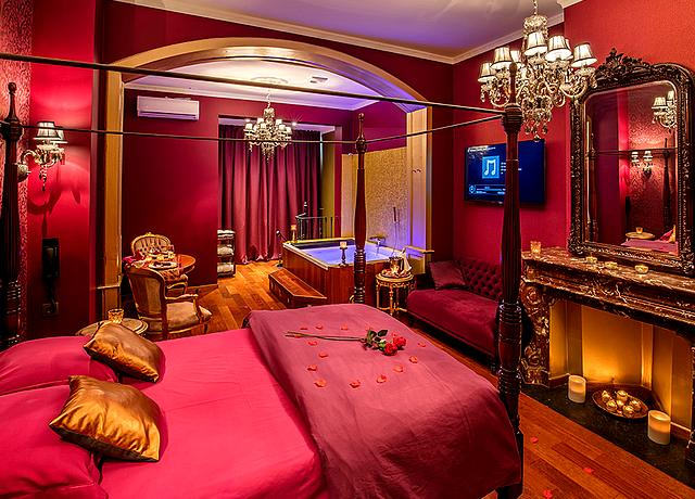 hotel et chambre avec jacuzzi privatif liege o secret