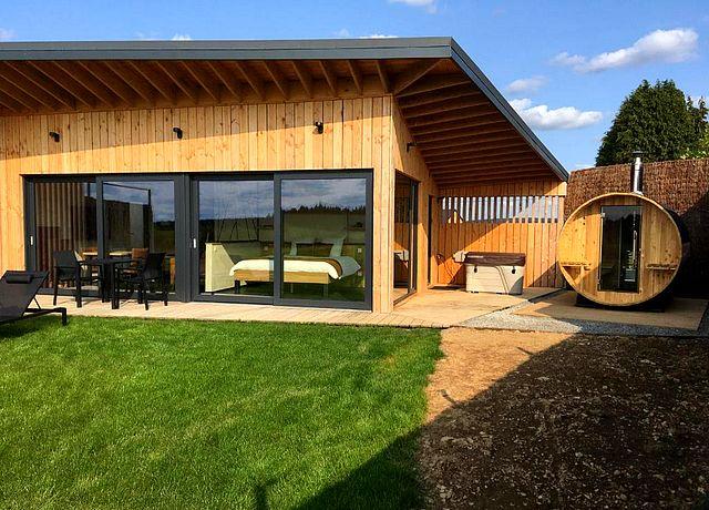 villa avec jacuzzi privatif et sauna province du luxembourg beau réveil